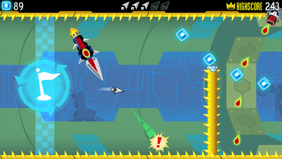 Screenshot 1 Tilt to Live: Gauntlet