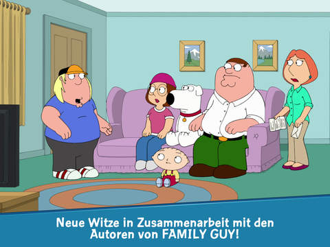 Family Guy: Mission Sachensuche iOS Screenshots