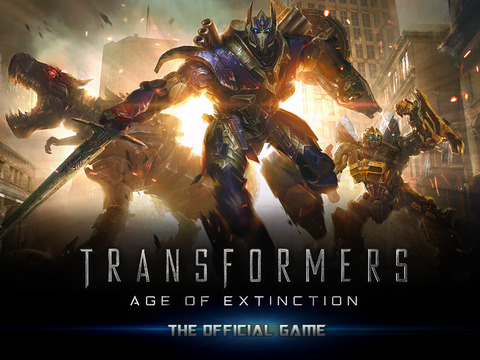 TRANSFORMERS: AGE OF EXTINCTION - The Official Game iOS Screenshots