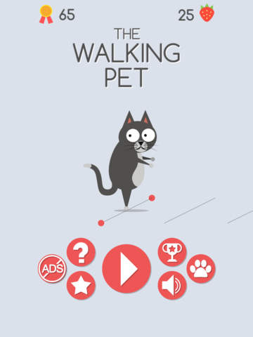 The Walking Pet iOS Screenshots