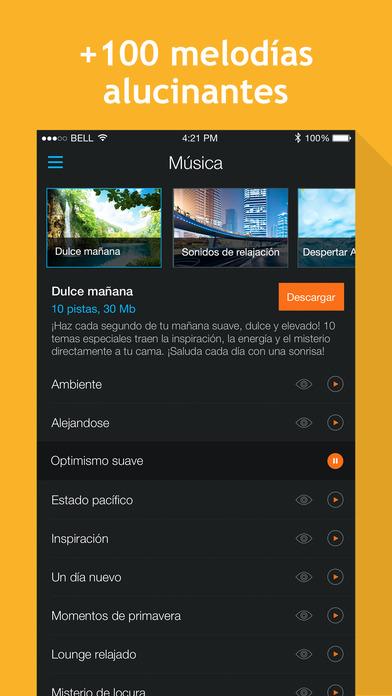 Alarma Inteligente: сiclos del sueño y grabación de sonidos nocturnos Screenshot