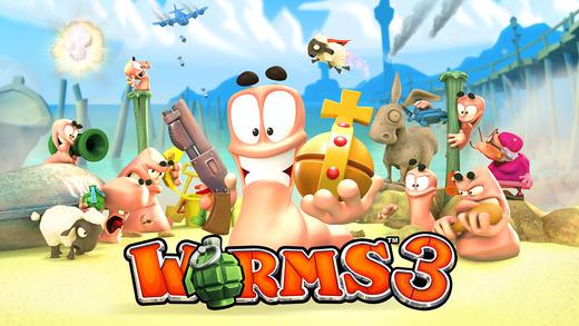 Worms 3 iPhone iPad