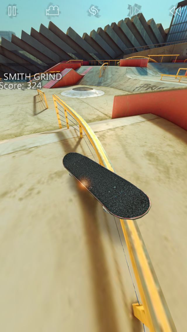 True Skate iOS Screenshots