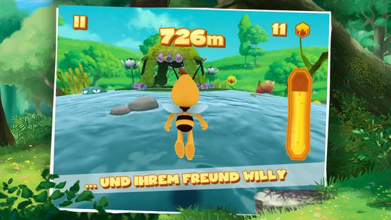 Die Biene Maja: Flügelflatterflitzeflug iOS