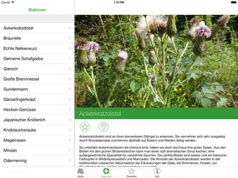 Heil- und Gewürzpflanzen Screenshot