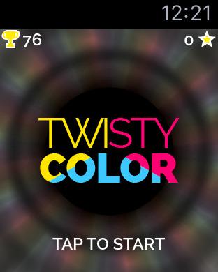 Twisty Color for Apple Watch Screenshot