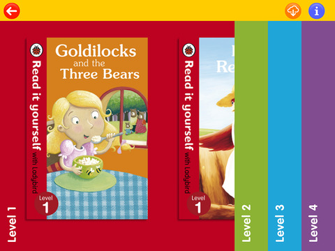 ladybird read it yourself level 3 reader books