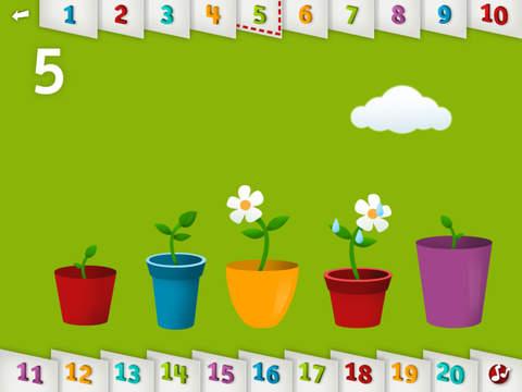 TallyTots Counting – Zählen lernen mit Zahlen & Formen – Zählen & Singen von 1 bis 100 – Lustige Lernspiele für Vorschulkinder Screenshot