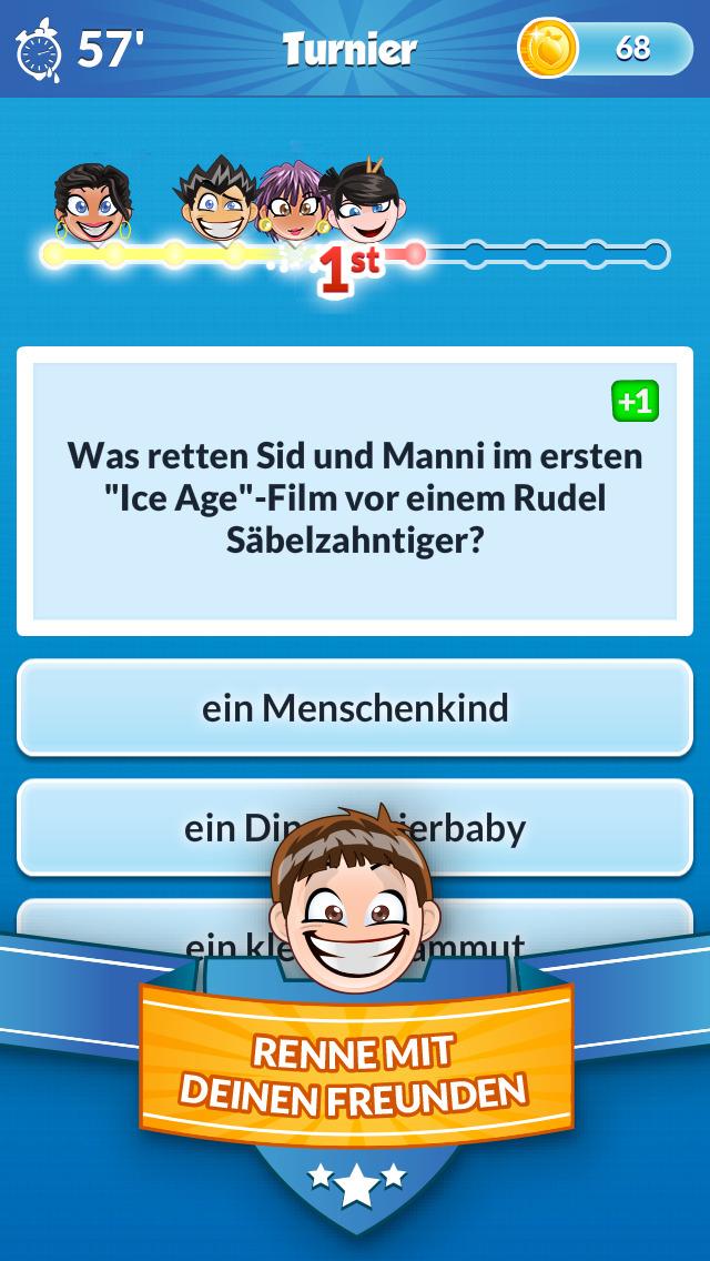 Quiz Run iOS Screenshots