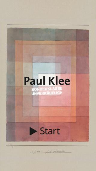 Paul Klee Screenshot
