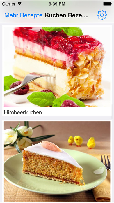 App kuchen backen