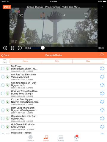 MediaCloud Free Music Download & Video Player for Dropbox, Google Drive, Box, OneDrive, Mediafire Screenshot