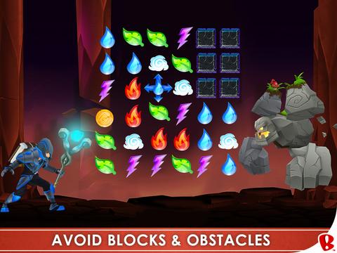 Spellfall™ - Puzzle Adventure Screenshot
