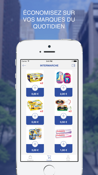 Apps coupons reduction