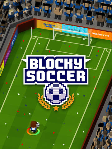 Blocky Soccer - Endless Arcade Runner iOS Screenshots