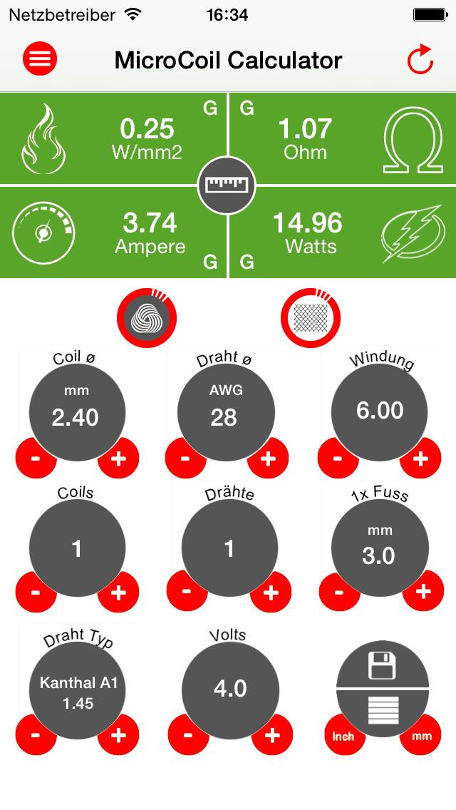 MicroCoil Pro (Swiss Vaping Precision) - PowerVaping.com - App
