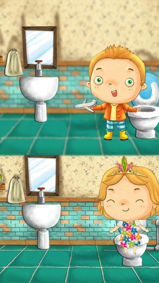 apprentissage de la propret apprendre avec les animaux potty training dans l app store. Black Bedroom Furniture Sets. Home Design Ideas
