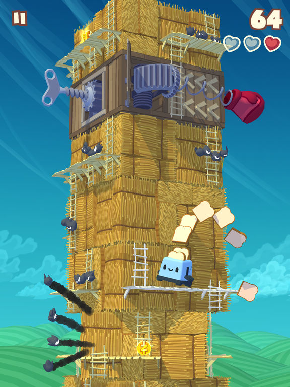 Screenshot 4 Twisty Sky - Endless Tower Climber