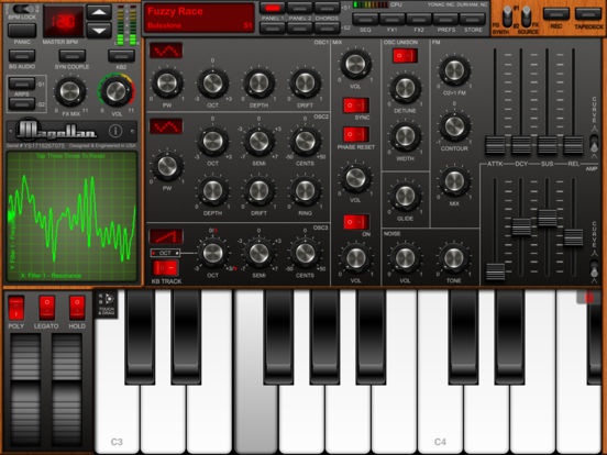 Screenshot Magellan