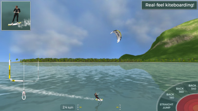 Kiteboard Hero iOS Screenshots