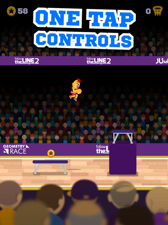 Screenshot 1 Mascot Dunks