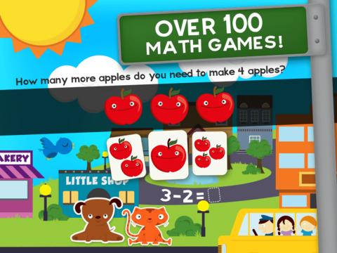 Tier Math Kindergarten Math Spiele Für Kinder Math Screenshot