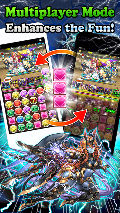 Puzzle & Dragons Screenshot
