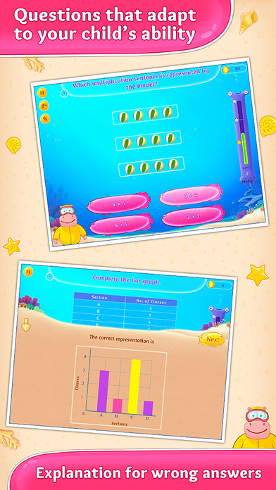 download 3rd Grade Math. Multiplication, Fractions and more appstore review