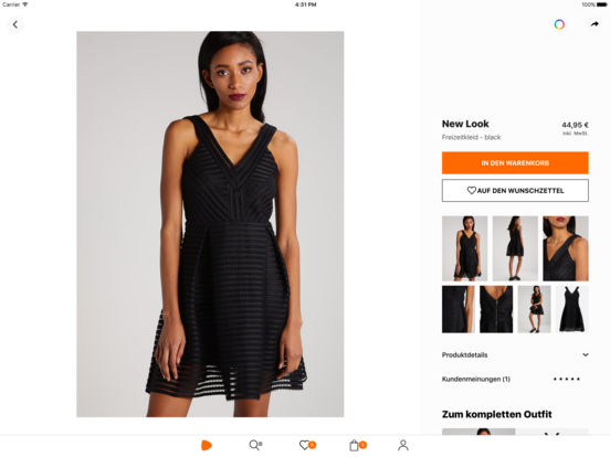 Zalando - Fashion und Shopping Screenshot