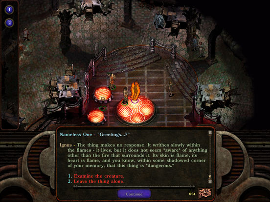 Screenshot 2 Planescape: Torment
