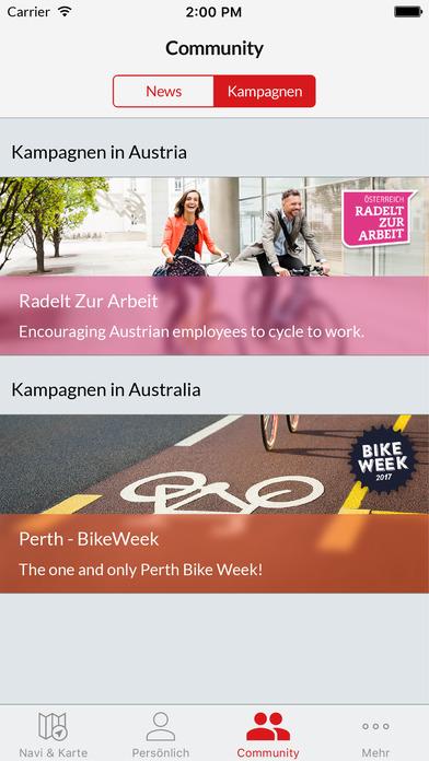 Bike Citizens – Fahrrad-Navi Screenshot
