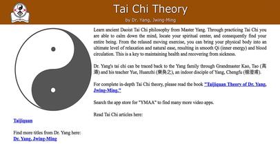 Screenshot for Tai Chi Theory in Estonia App Store