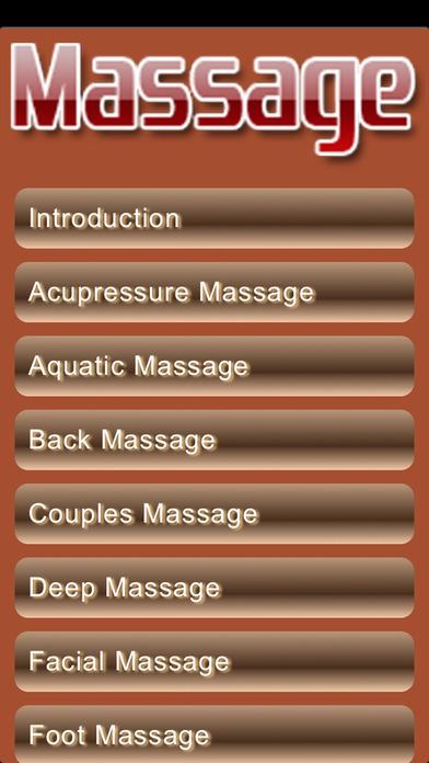 Massage Pro Screenshot