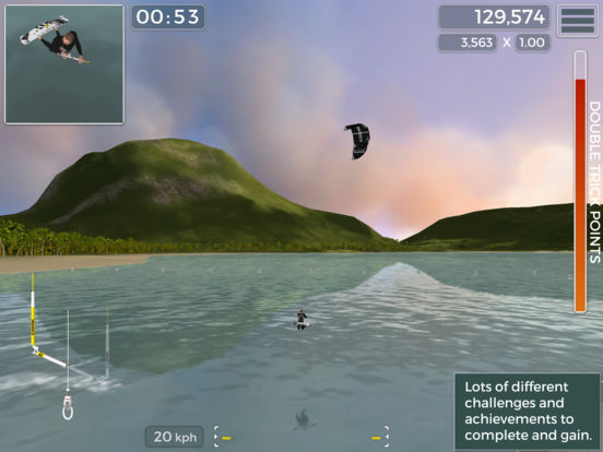 Screenshot 2 Kiteboard Hero