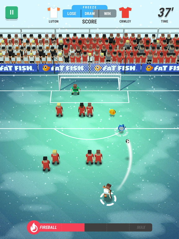 Screenshot 5 Tiny Striker: World Football