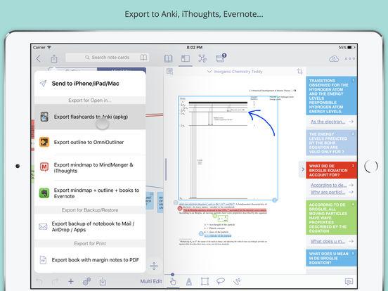 MarginNote Pro - Effiziente Studie PDF & EPUB Screenshots