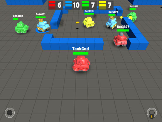 Tank Rogue - Multiplayer Game with Tank Wars Screenshots