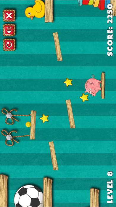 Slash Rope To Feed Pig