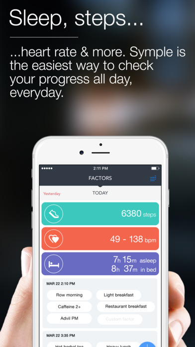 Symple - Symptom Tracker & Health Diary Screenshots