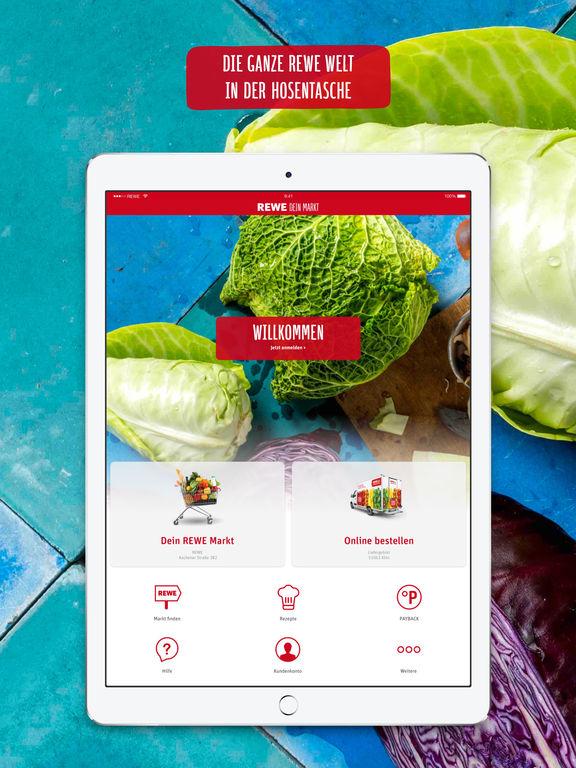 REWE Lebensmittel – Supermarkt & Lieferservice Screenshot