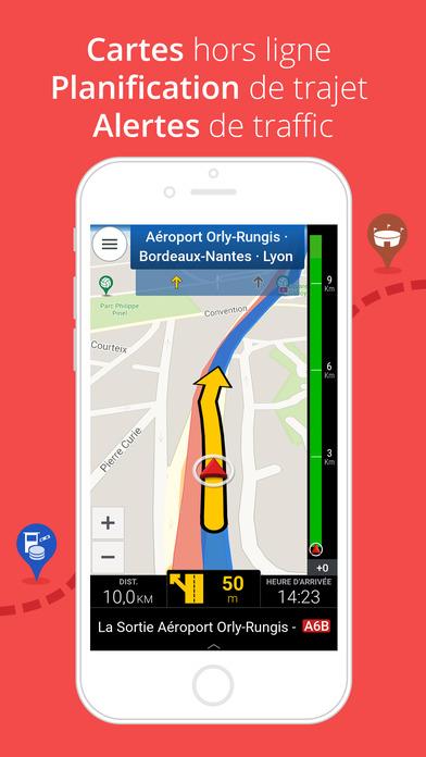 Screenshot CoPilot Europe HD - Navigateur GPS & Cartes