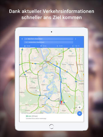 Google Maps – Navigation, Bus & Bahn Screenshot