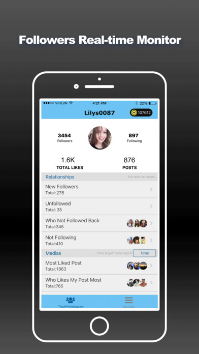 download Track for Instagram Followers - Insta Follow Meter appstore review