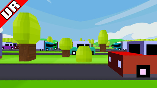 VR Street Jump for Google Cardboard Screenshot