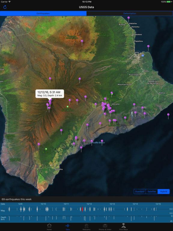 Kīlauea Update Screenshots