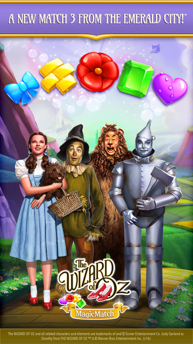 download Wizard of OZ: Magic Match appstore review