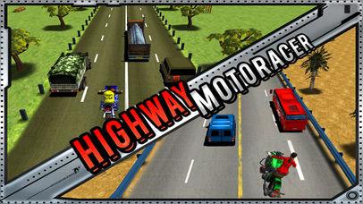 autoroute Moto Racer (3d vélo jeu de course) iPhone