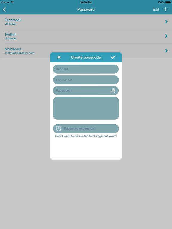 Secretum Screenshot