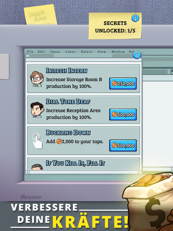 Screenshot 4 Office Space: Idle Profits