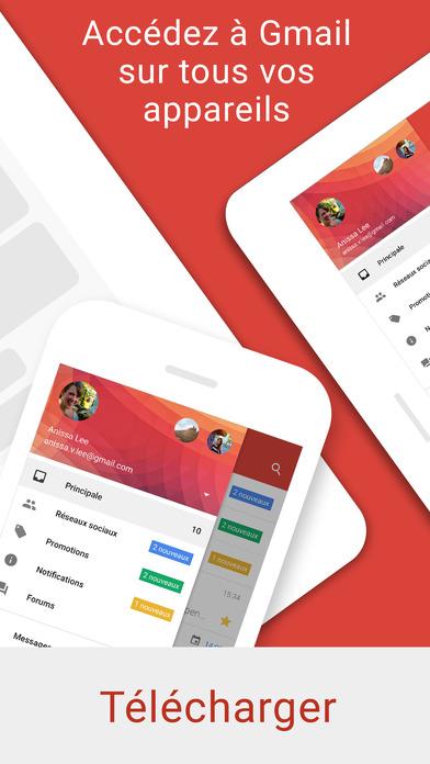 download Gmail – l'e-mail Google : sûr, rapide et organisé apps 0